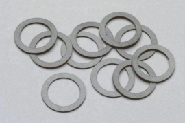 Piko 56070,Slip bandje 9,4 x 6,4 x 0,5 mm (10 Stück)voor ICE 4