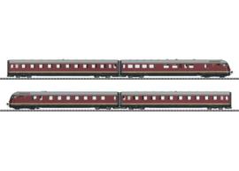 """22602 TEE diesel railcar trein VT 08.5 """"Parijs-Ruhr"""""""