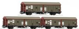 Piko 58331 Schuifwandwagen-set (DB)