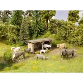 NOCH 12742 : Schuilplaats voor vee