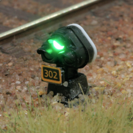 DR701#Dwergsein HO met ledverlichting