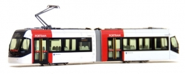 Kato 14-801-1 : Porttram Lightrail (wit)