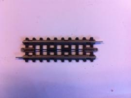 Trix Express (4)708. Rechte rail 88mm.