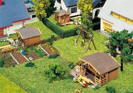 Faller 2322 09 : Tuinhuisjes