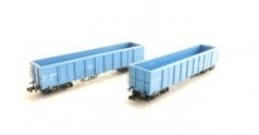 HobbyTrain H23417 : Gesloten goederenwagenset Eanos-201 (NS)