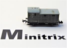 Minitrix 7830. Conducteurswagen
