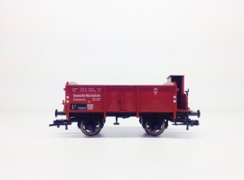 Fleischmann 5212K Open goederenwagen met remmershuis (DRG)