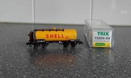 Minitrix 15504-04 Ketelwagen Shell (DB)