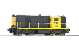 Roco 78790. Diesellocomotief 2435  van de NS (Sounduitvoering wisselstroom)