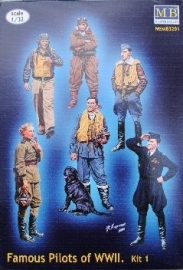 MB 3201 : Beroemde piloten uit WO II