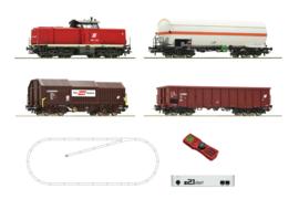 Roco 51322#z21 start Digitale set: Diesellocomotief BR 2048 met een goederentrein van de OBB.