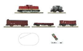 Fleischmann 931892. N z21 start Digitale set: Diesel lokomotief BR 110 met goederentrein, DR