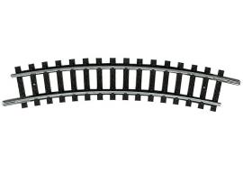 Minitrix 14914 : Gebogen rail  (R 1 - 24°)