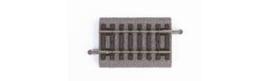 Piko 55405 (A) Rechte rail met bedding 62mm