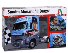 Italeri 3849 # Volvo FH 16 Sandro Munari il Drago