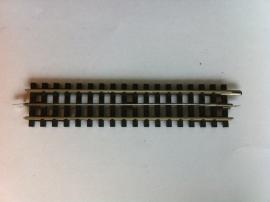 trix Express 4305. Rechte rail 134,3mm