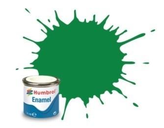 Humbrol 2 : Emerald,  glans