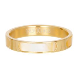 Ring Aruba ; goudkleurig