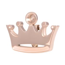iXXXi Crown Brooch top part ; rosé-goudkleurig