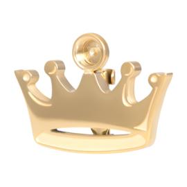 iXXXi Crown Brooch top part ; goudkleurig