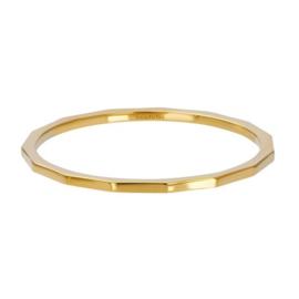 iXXXi Ring Angular ; goldcolor