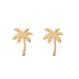 iXXXi oorknopjes, palm tree goud