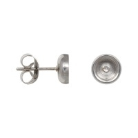 iXXXi Top part ear studs, zilver