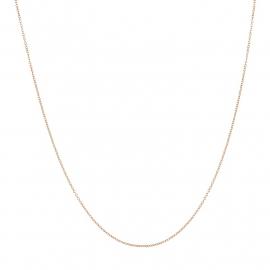 iXXXi 1mm collier 50cm, rosé-goudkleur