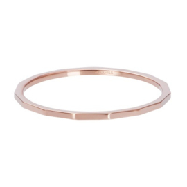 iXXXi Ring Angular ; Rosé-goldcolor