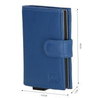 Credit Card Etui ; Double-D ; Sky Blue ; Anti-Skim