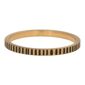 Ring Cartels, goudkleurig