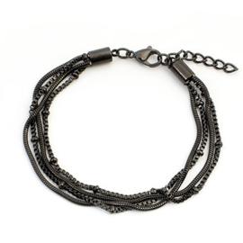 iXXXi armband Knot ; Zwart