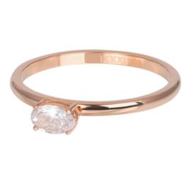 Ring King ; rosé-goudkleurig
