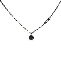iXXXi Top part chain collier 40cm, zwart