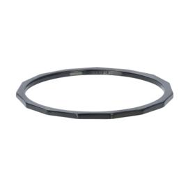 iXXXi Ring Angular ; Black