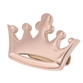 Crown Brooch Small ; rosé-goudkleurig