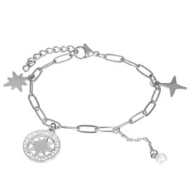 iXXXi armband Sparkle ; zilverkleurig
