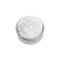 Top part drusy white, zilver