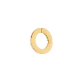 Los oog ; Loop Small ; Gold color