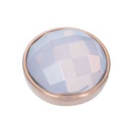 Top part facet opal roségoud