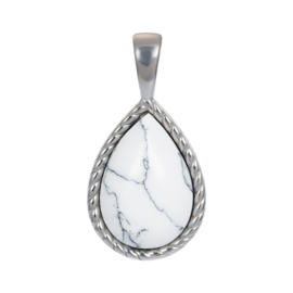 Charm Magic White ; zilverkleurig
