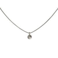 iXXXi Toppart snake collier 40cm, zilver
