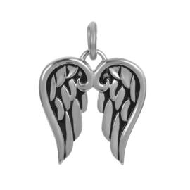 Hanger Wings ; zilverkleurig