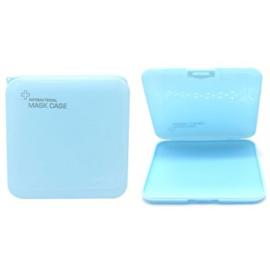 Beschermdoosje mondkapje blauw