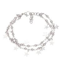 Armband dazzling star, zilver