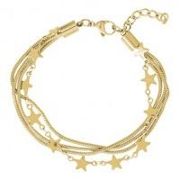iXXXi armband Snake and  star ; goudkleur