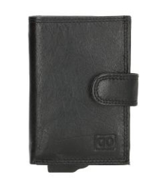 Credit Card Etui ; Double-D ; Zwart ; Anti-Skim