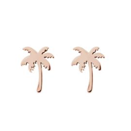 iXXXi oorknopjes, palm tree roségoud