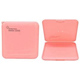 Beschermdoosje mondkapje roze