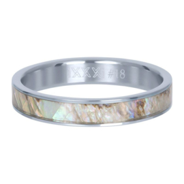 Ring ; grey shell cover